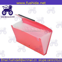 Wholesale custom PP stationery plastic file folder cases