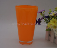 Plastic Double wall 20oz cup pint tumbler