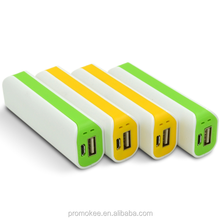 Universal best small size case power bank 2600 mah