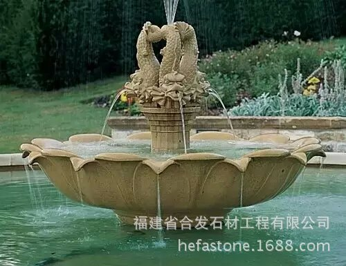 High Quality China Factory Aritifical Garden Stone Water Fountain