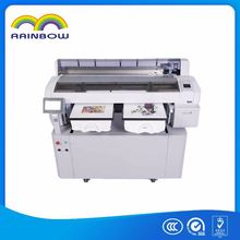 Directly Printing Machine CE approved 3D effect digital flatbed t-shirt printer , 3d uv pinters for t shirt