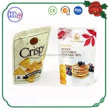 new 2017 product food grade air proof stand up bag customized for crisps