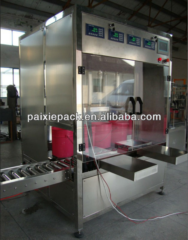automatic oil 10 litre filling machine