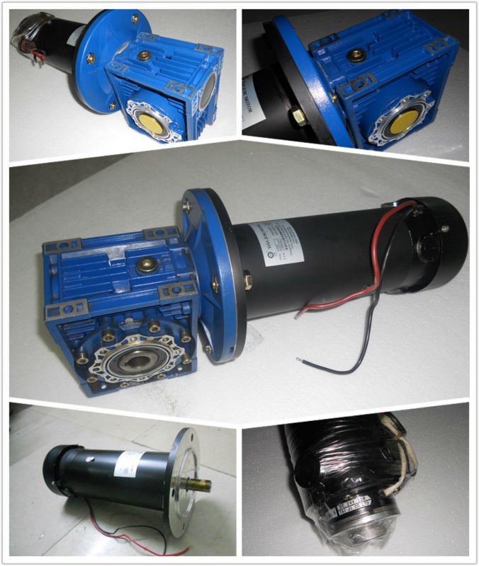Sell 12v dc high torque electric motor with reduction gear for 24 volt dc motor high torque