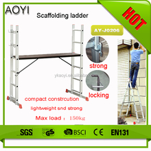 AY-J0206 aluminum step suspended motorcycle lift scaffolding parts
