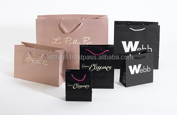 2014 TOP QUALITY Foldable Gift Paper Bag, paper bags, luxury bags, packaging printing 03