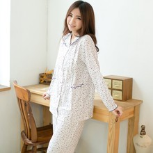 Chinese factory suppliers cotton cotton pajamas image mature women nighties