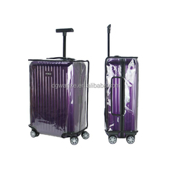 travel trolley luggage bag plastic cover luggage