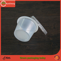 1 Oz Clear Sealable Plastic Cup