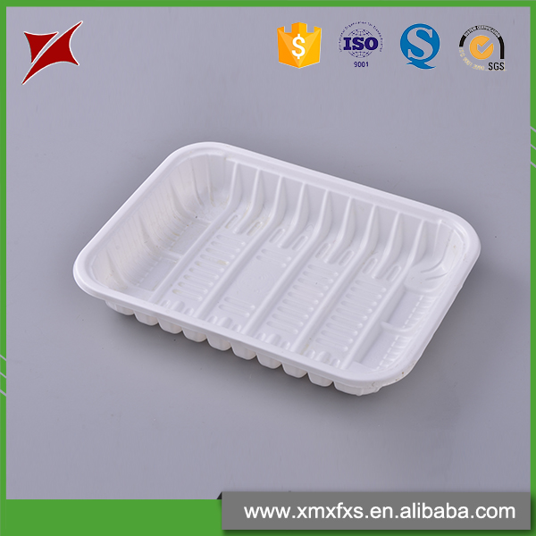 Food grade blister food container fruit small plastic trays disposable