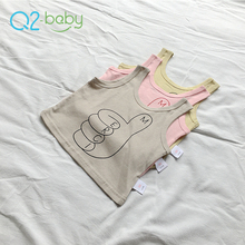 Q2-baby OEM Branded Fashion Sleeveless Summer Baby Boy'S Vest