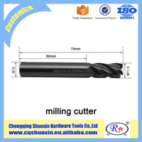 various metal cutter solid carbide end mill