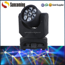 manufacturer wholesale price 7pcsx10w high brightness big eye led wash moving head