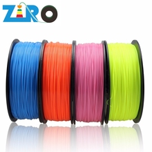 No bubble Impact resistant ABS filament Durable 3D printer filament for 3D printer 1.75mm 3mm