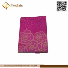 New Design Soft Printing decorative suede book cover