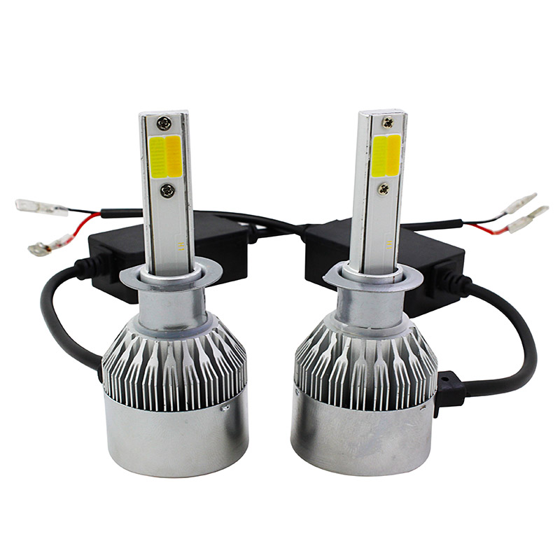C6 PLUS LED headlight white golden yellow 5000K~6000K 3000K 4300K