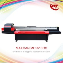 High quality ricoh gen5 wide format digital flatbed uv led printing machine