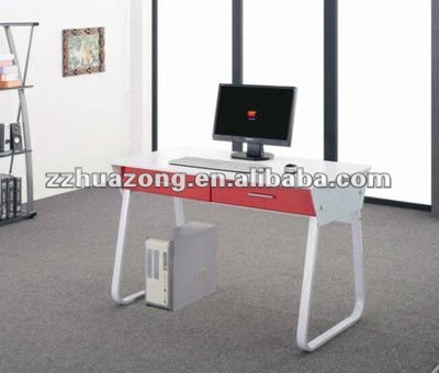 Computer Desk with Steel Frame MDF Boards