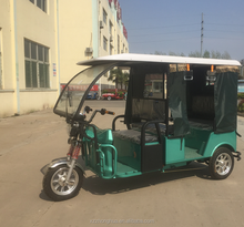 Hot sale 48V 1000W e rickshaw for passenger for indian market tricycle for passenger