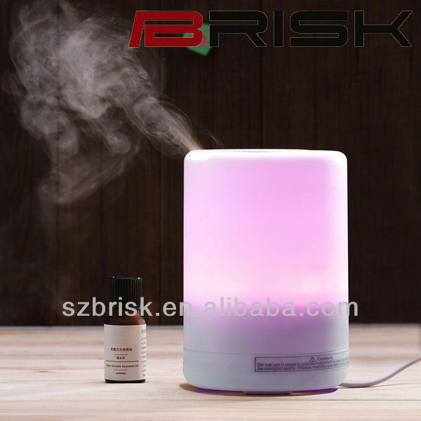 2013 Newest 14 Colors ultrasonic led scent diffuser air conditioning diffuser water diffuser