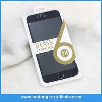 Latest product special design full cover orginal color gold tempered glass screen protector with good offer