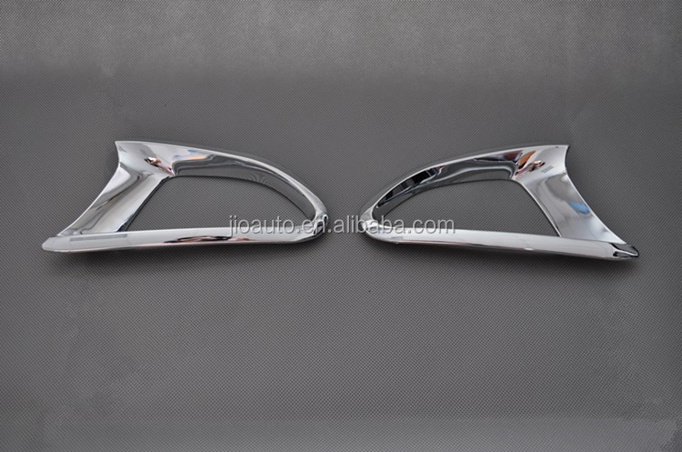 Car accessories ABS chrome car rear fog light cover trim for Mazda2 Demio parts 2015
