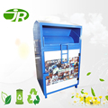 standing steel clothing recycling bin for sales