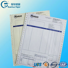 high quality computer continuous forms/computer print copy paper