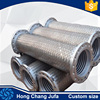 Gas pipeline 50 bar pressure stainless steel wire mesh flexible metal bellow hose