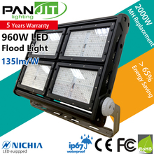 High power cold forging aluminum dimmable 600 watt soccer field led outdoor flood light factory
