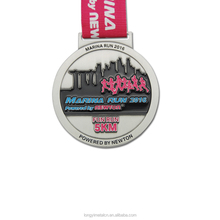 Free design enamel running race medal with custom logo/cheap custom finisher medal/custom medals no minimum order