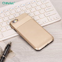 Ultra Slim 2 In 1 Shock Resistant Armor Back Cover Case For iPhone 6