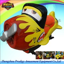 Hot coin operated indoor amusement park equipment - Happy plane /CE kiddie ride / professional china factory