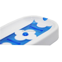 Blue Plastic Soap Dish Fashion Soap