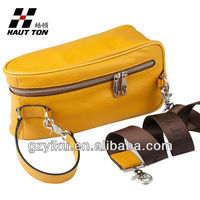 2013 new fashion portable men's leather sport shoulder bags from Guangzhou factory