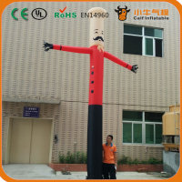 advertising inflatable chef air dancer,sky dancer,chef model for catering