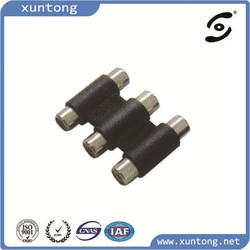 Audio Video Female to Female Coupler Adapter 3 RCA Connector
