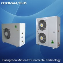 Inverter split triple-supply refrigerant multi-function air source water pump heat pump
