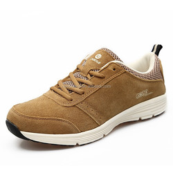 2015 new design cool men casual leather sport running basketball shoes accept Paypal in China Guangzhou