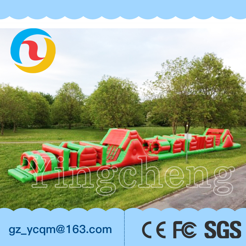 new style Multiple inflatable obstacle game for children