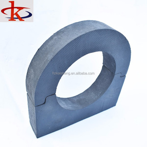 EVA safety foam padding pipe,vertical, pipe support brackets