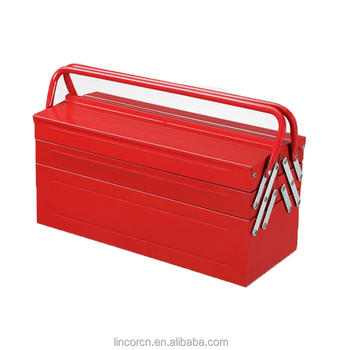 China design SPCC iron steel Portable hand held toolbox tool case