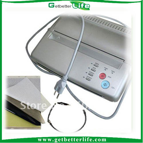2014 Getbetterlife Thermal Hectograph Printer Tattoo Stencil Flash Copier Machine