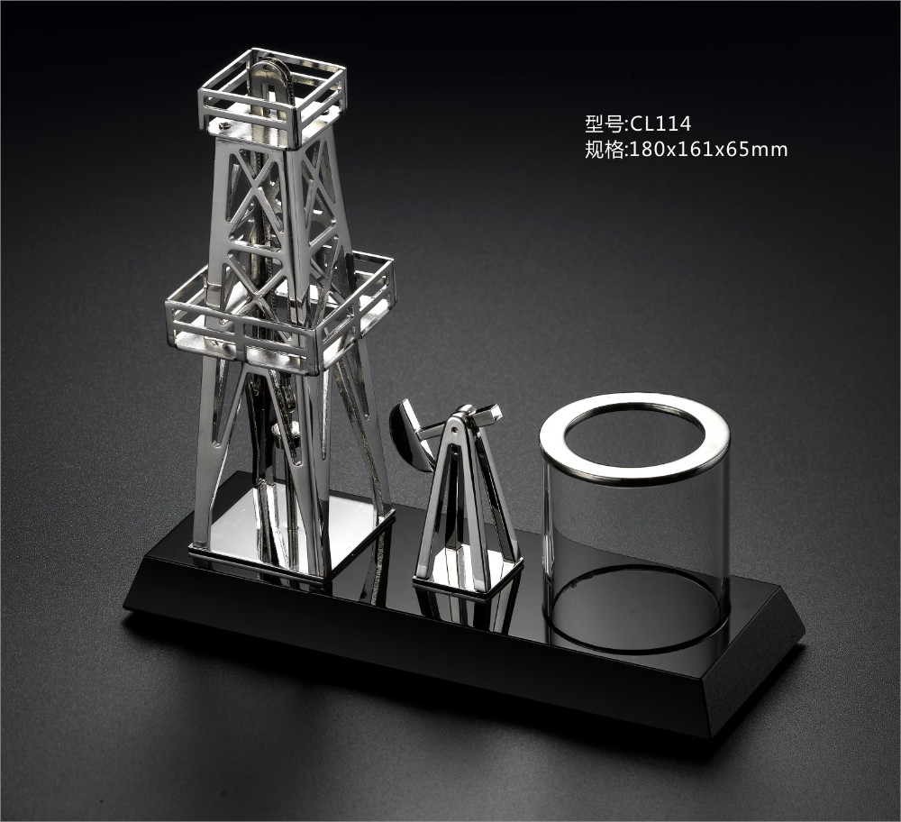 the metal gift for oil company souvenir
