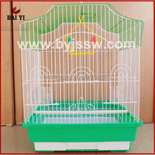 Customized Chinese Metal Bird Cage With Plastic Trays