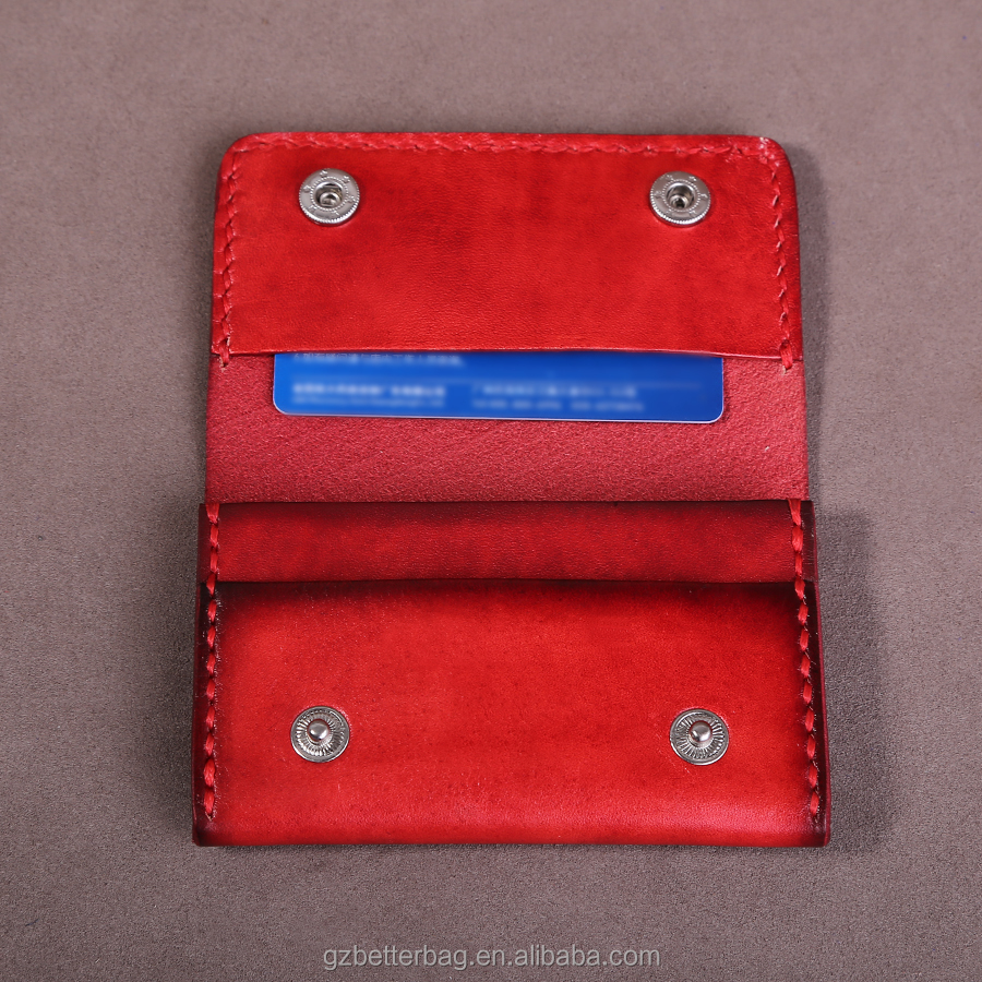 NAMECARD HOLDER GENUINE LEATHER CARD CASE