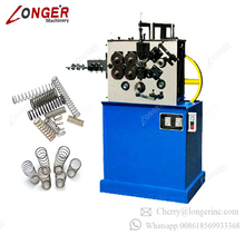 Latest Technology Metal Metallurgy Machinery Automatic Computerized Coil Spring Former Forming Wire Spring Making Machines