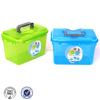 large tool toy plastic storage box with lock lids