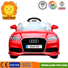 Hot Licensed Audi A3 Children car musical 2.4G Radio control electric ride on car for kids