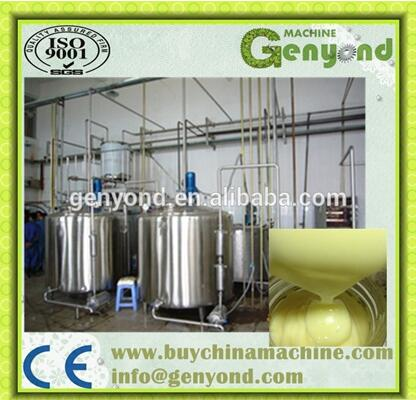 Evaporated milk processing line/Condensed milk plant
